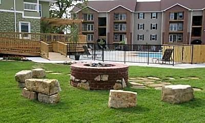 Courtyard, Terrace Green Apartments - Joplin, 0