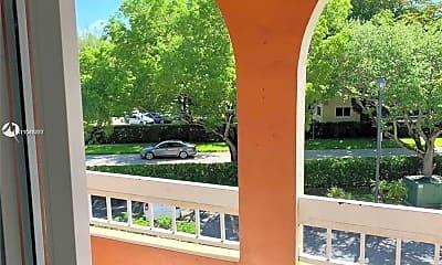 Patio / Deck, 7707 Camino Real 410, 1