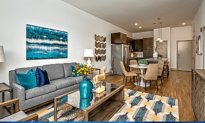 Living Room, 531 Grand Boulevard, 2