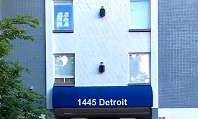 Community Signage, 1445 Detroit St, 0