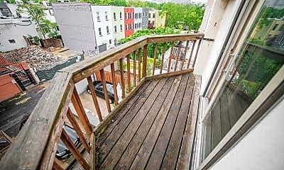 Patio / Deck, 2408 Spruce St 3, 2