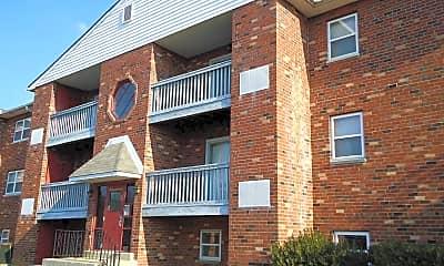 Building, Lea Boulevard Apartments, 1