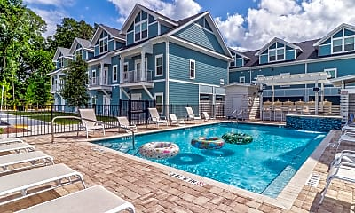 Pool, Jackson Commons, 0