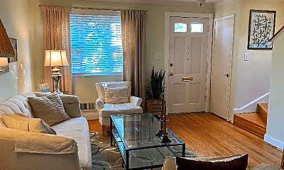 Living Room, 1215 Gibbon St, 1