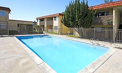 Pool, Sund Apartments, 0