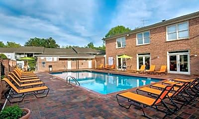 Pool, Ascot Apartments, 1