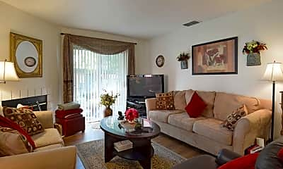 Bedroom, Lakeshore Apartments, 1