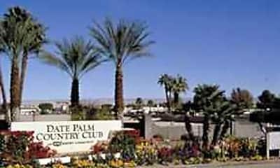 Community Signage, Date Palm Country Club - Senior Living, 0