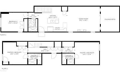 Patio / Deck, 1013 S 12th St, 2