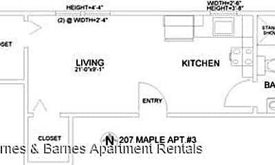 Building, 207 Maple St, 1