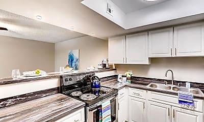 Kitchen, V Lane Apartments, 1