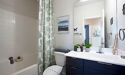 Bathroom, San Mateo Townhomes, 1