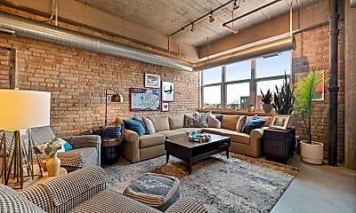 Living Room, 901 N 3rd St 510, 0