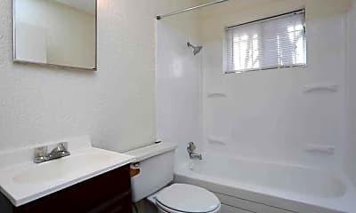 Bathroom, Virginia Apartments, 1