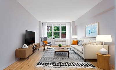 Living Room, 495 E 7th St 4F, 0