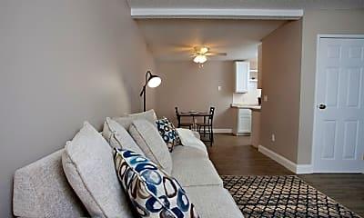 Living Room, Westport Apartments, 1
