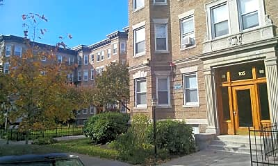 Building, 107 Queensberry Street Apartments, 0