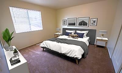Bedroom, Mountain Ridge Manor, 1