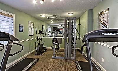 Fitness Weight Room, Navona at Live Oak, 1
