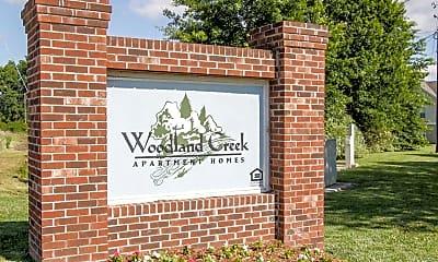 Community Signage, Woodland Creek, 2