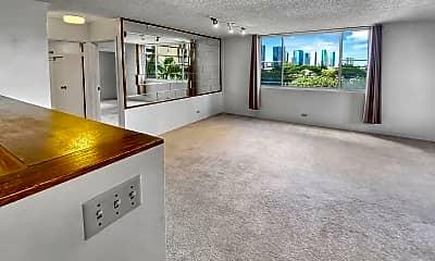 Living Room, 1032 Kinau St, 1