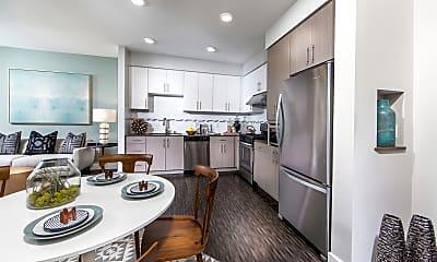 Kitchen, Aria Apartments, 0