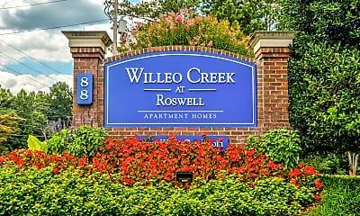 Community Signage, Willeo Creek Apartments, 2