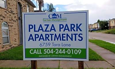 Plaza Park Apartments, 1