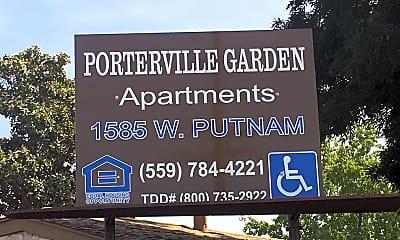 Porterville Garden Apartments, 1