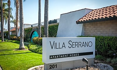 Community Signage, Villa Serrano, 2