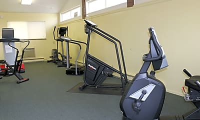 Fitness Weight Room, Coldwater Crossing Apts, 2