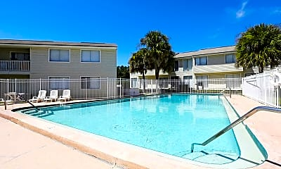 Pool, Puritan Place Apartments, 0