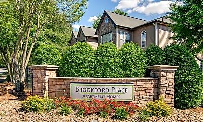 Community Signage, Brookford Place, 2