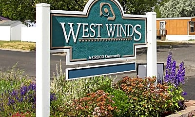 Community Signage, West Winds, 2