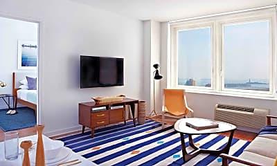 Living Room, Columbus Towers, 0