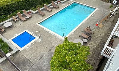 Pool, 300 Murchison Dr, 2