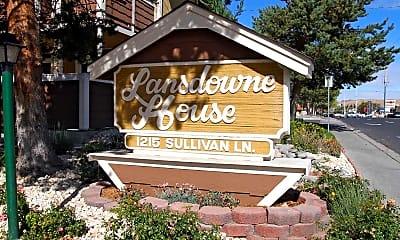 Community Signage, Lansdowne House, 2