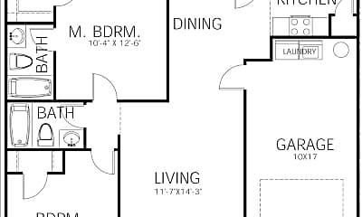 Bedroom, 19203 FM 16, 2