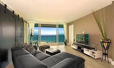 Living Room, 333 NE 21st Ave 1802, 1