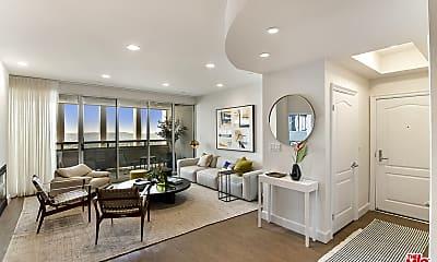 Living Room, 5670 Wilshire Blvd PH1, 1