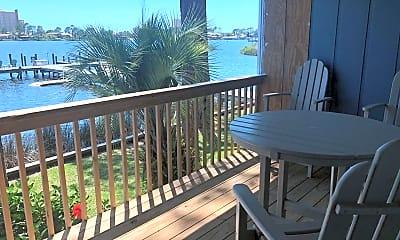 Patio / Deck, 6909 N Lagoon Dr, 1