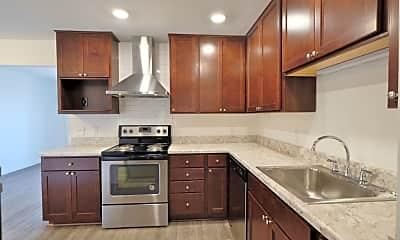 Kitchen, M Street Flats, 1