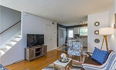 Living Room, 808 Riverside Dr, 1