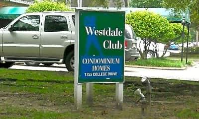 Community Signage, 1701 College Dr, 2