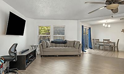 Living Room, 6531 Maverick Oak Dr, 1