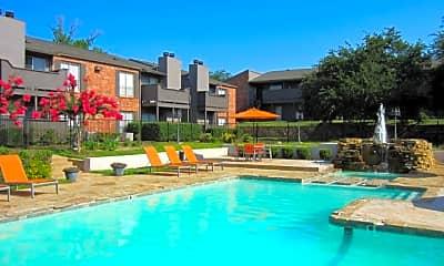 Pool, Princeton Club Apartments, 2