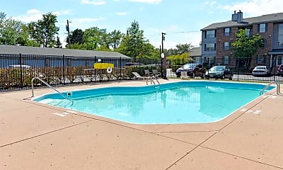 Pool, Carriage Hill Condos and Apartments, 0