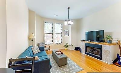 Living Room, 2058 N Albany Ave, 1