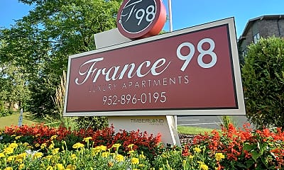 Community Signage, France 98, 2