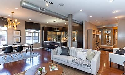 Living Room, 34 W Poplar Ave 405, 0